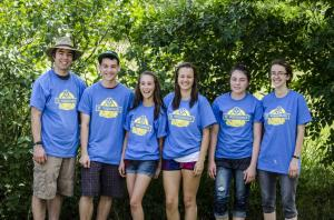 Great Camp Counselors and their snazzy shirts!